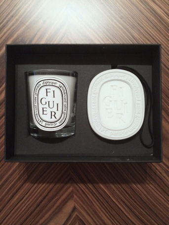 diptyque candle oval set