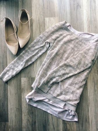 ootd - light sweater layering 2