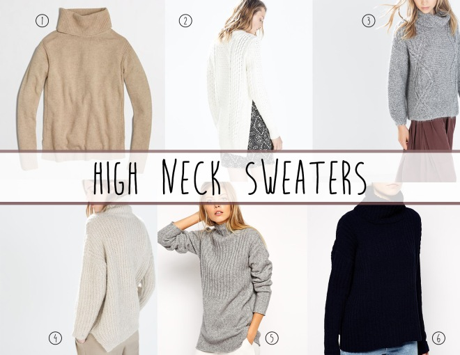 highneck sweaters