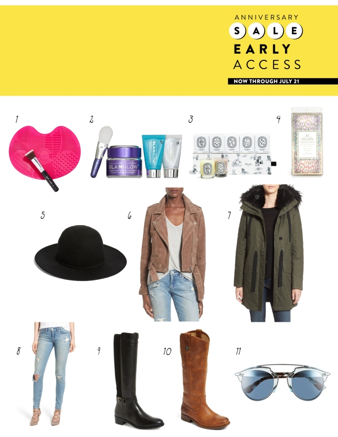 Nordstrom Anniversary Sale Early Access 2016